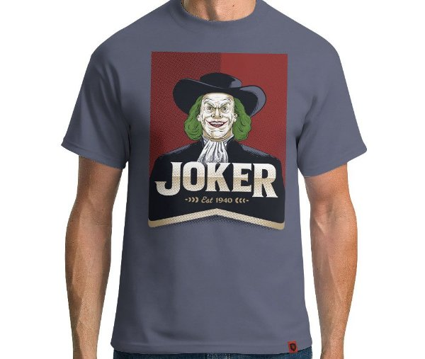 Camiseta Joker Oats  - Masculina