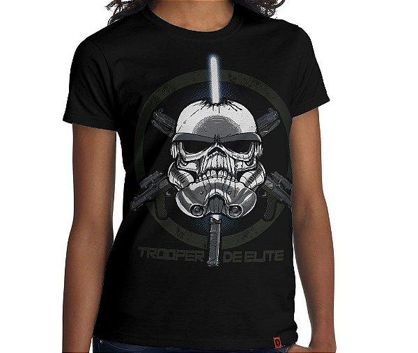 Camiseta Trooper de Elite - Feminina
