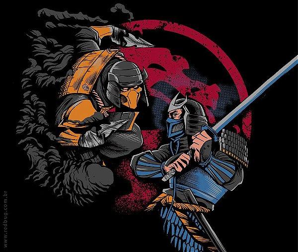 Camiseta Mortal Samurais- Feminina