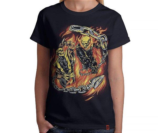 Camiseta Hell Fight - Feminina