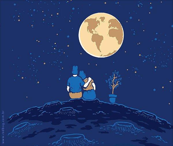 Camiseta Planeta Terra - Feminina
