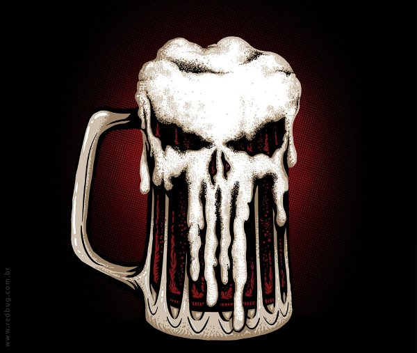 Punisher Beer - Masculina
