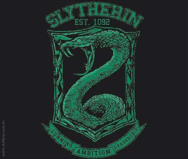 Camiseta Slytherin - Feminina