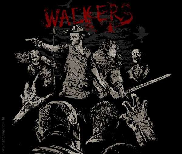 Camiseta Walkers - Feminina