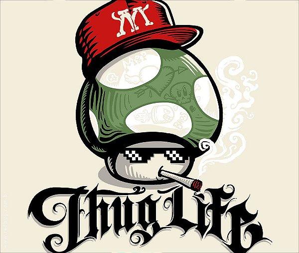 Camiseta Thug Life - Masculina