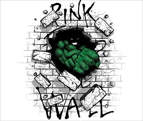 Camiseta Hulk The Wall - Feminina