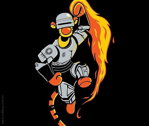Camiseta Tigger Robocop - Masculina