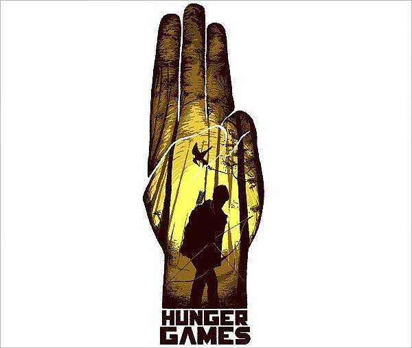 Camiseta Hunger Games - Masculina