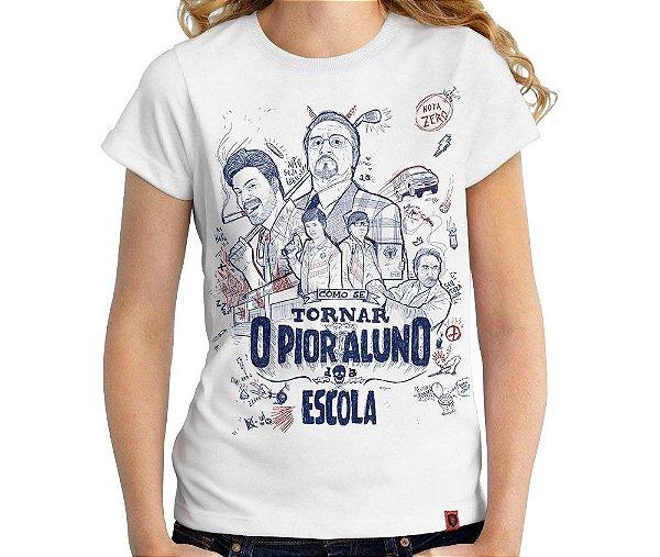 Camiseta Pior Aluno - Feminina