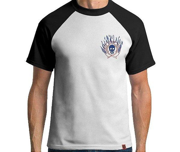 Camiseta Pior Aluno Raglan - Masculina