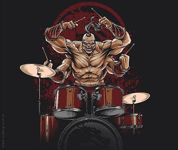 Camiseta Mortal Drums - Feminina