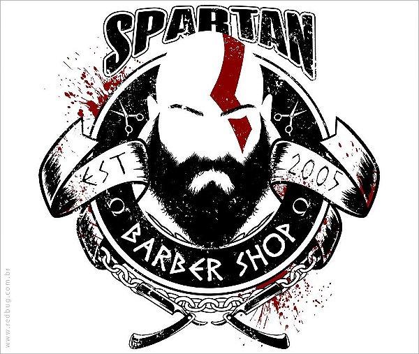 Camiseta Spartan Barber Shop - Feminina