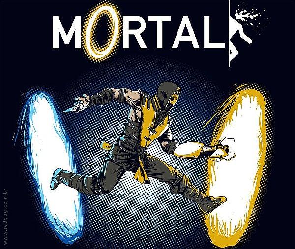 Camiseta Mortal - Feminina