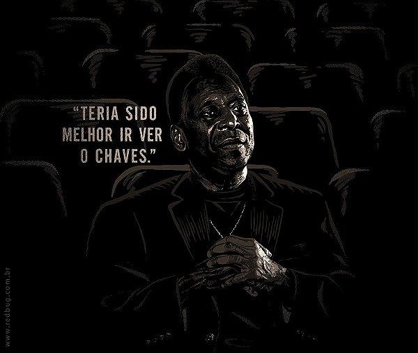 Camiseta Filme do Pelé - Feminina