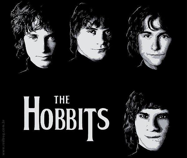Camiseta The Hobbits - Masculina