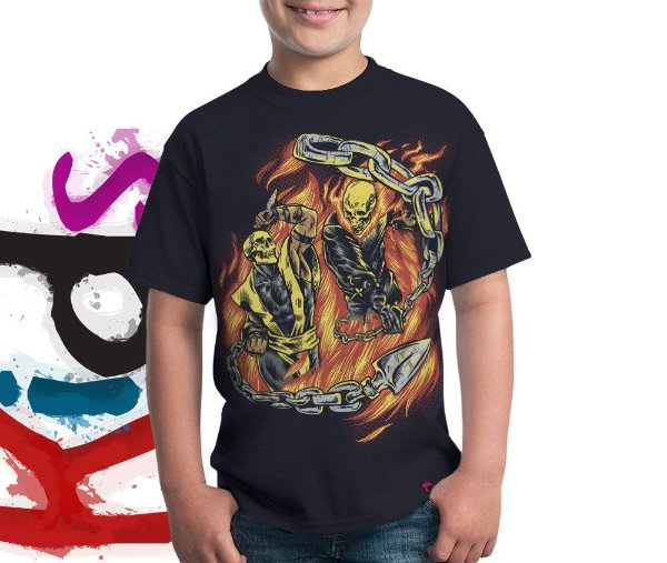 Camiseta Hell Fight