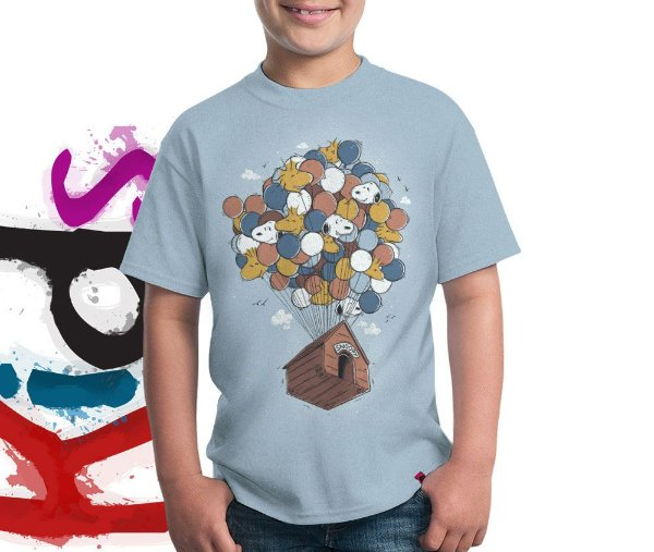 Camiseta Floating House
