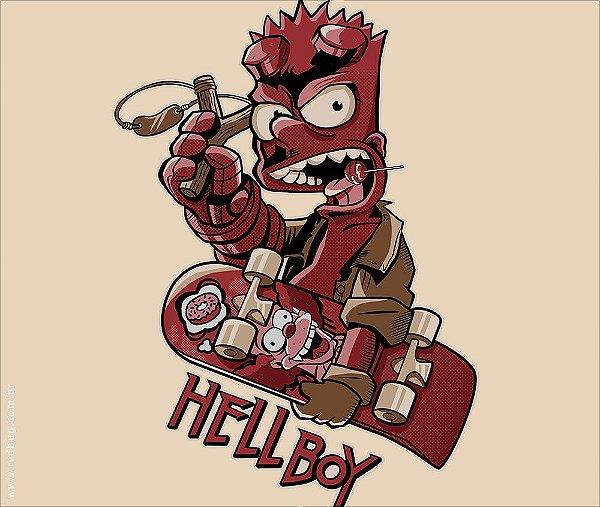 Camiseta Boy From Hell - Masculina