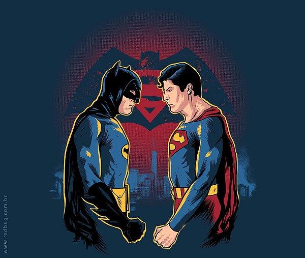 Camiseta Adam West x Christopher Reeve - Feminina
