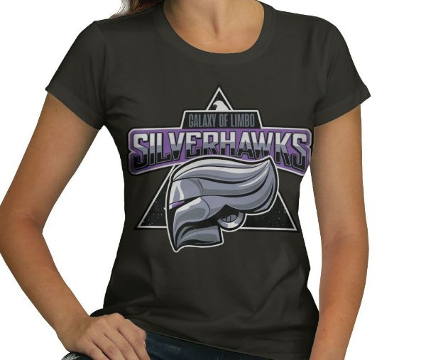 Camiseta Silverhawks - Feminina
