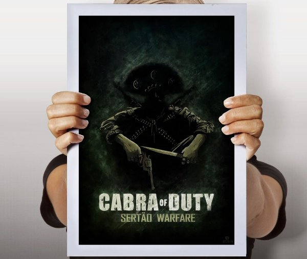 Poster Cabra of Duty