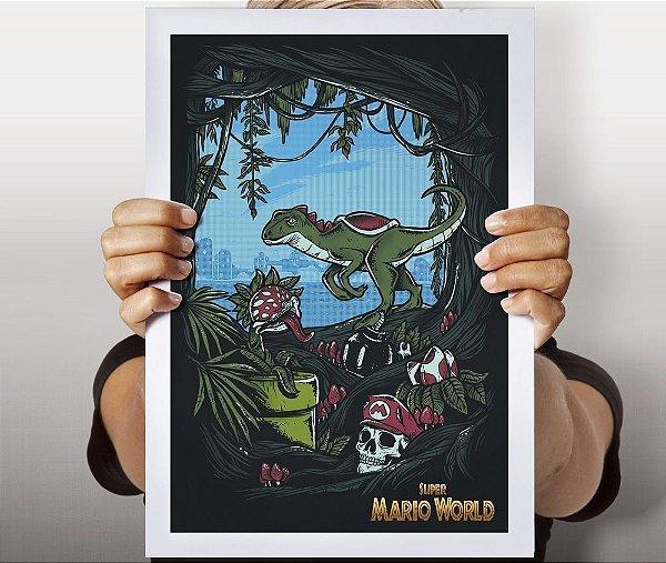 Poster Super Mário World