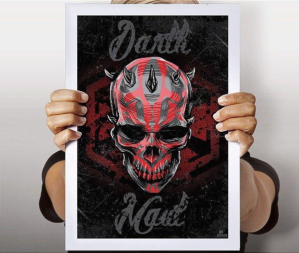 Poster Darth Skull