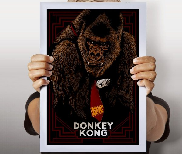 Poster Donkey Kong
