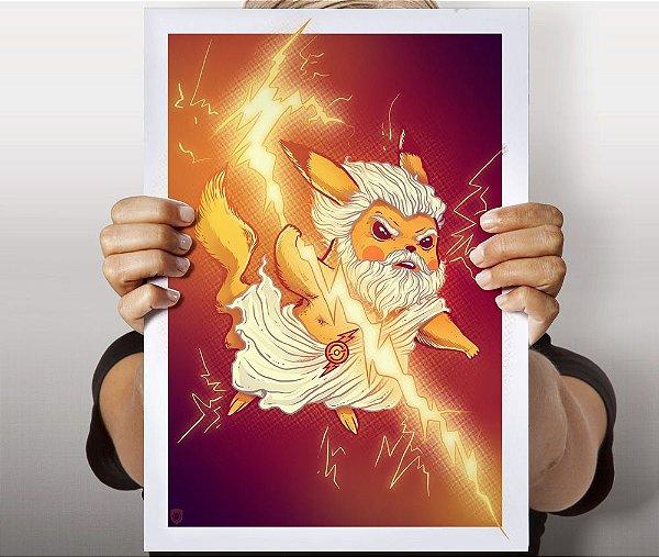 Poster Electricity God