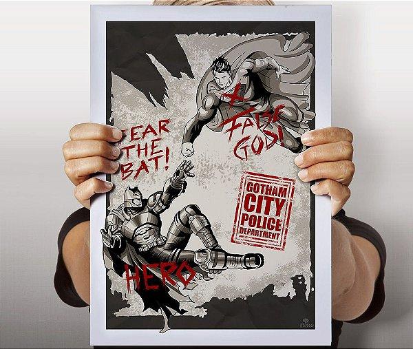Poster False God