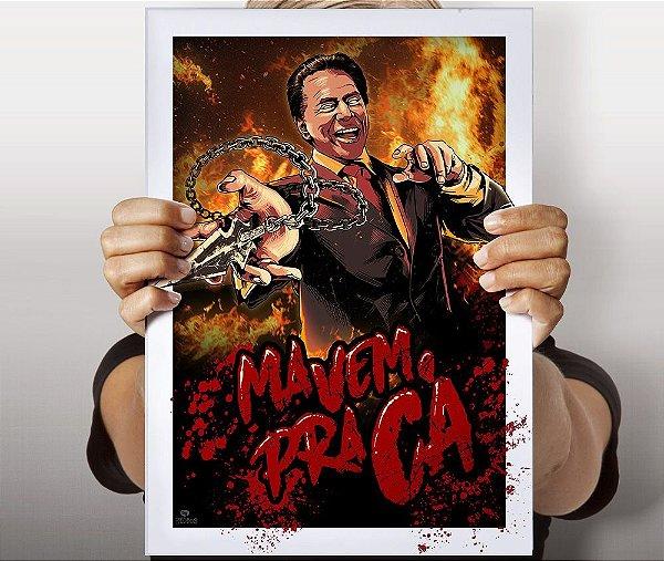 Poster Scorpio Santos