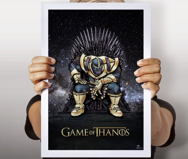 Poster Game of Thanos