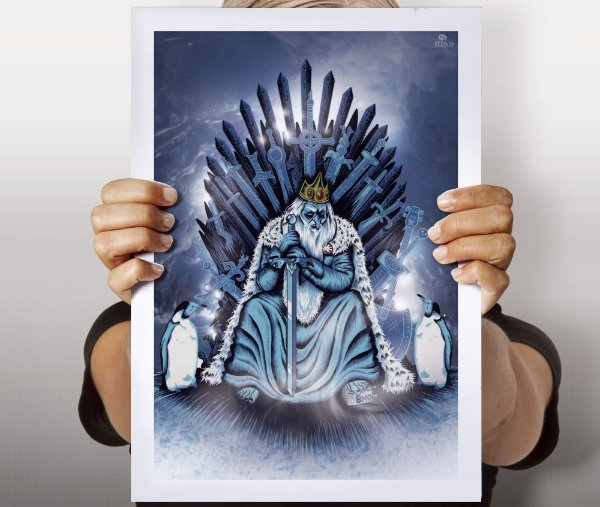 Poster The Ice King