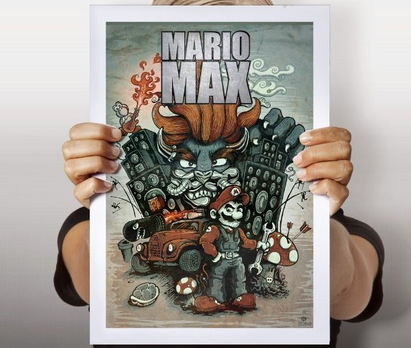 Poster Mario Max