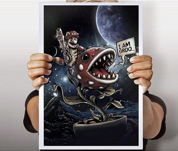 Poster Mario Raccoon