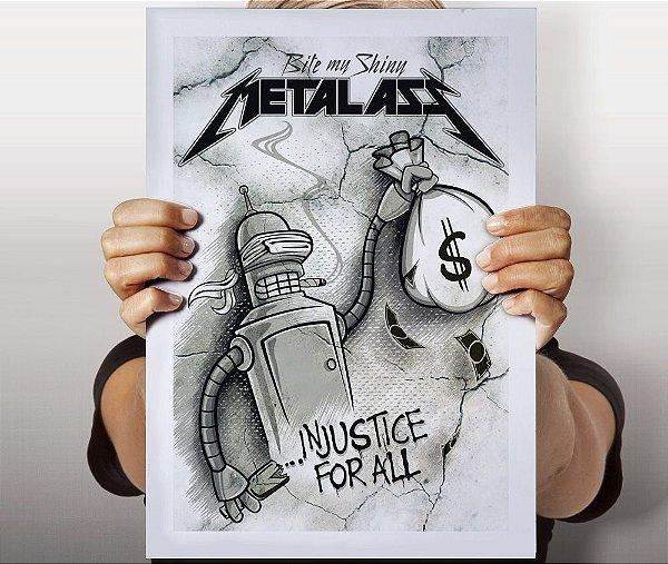 Poster Metal Ass