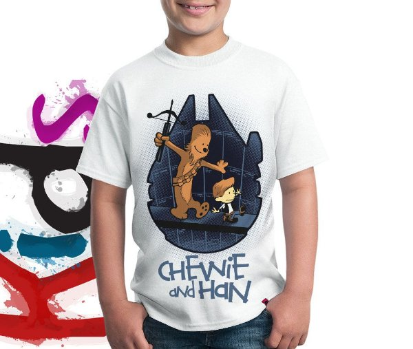Camiseta Chewie And Han
