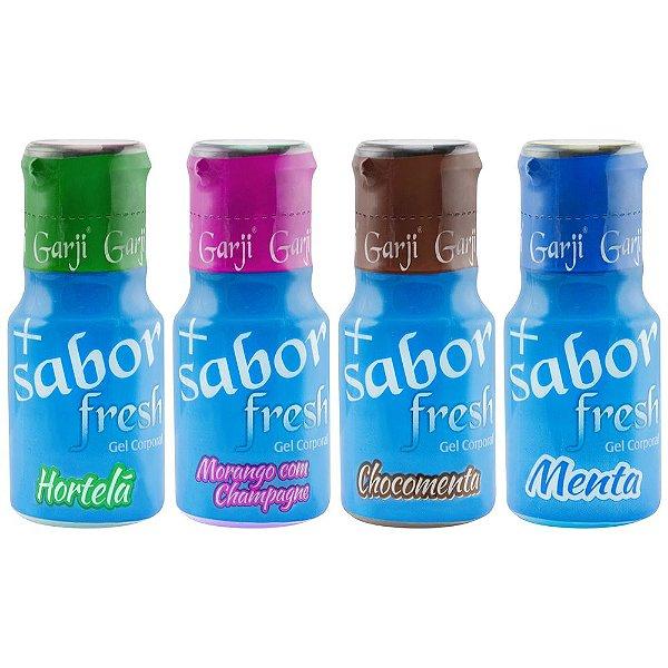 + Sabor Fresh Ice Gel Comestível 15ml Garji
