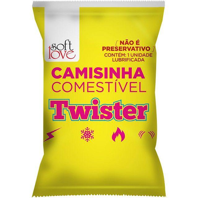 Camisinha Funcional Twister Solúvel Soft Love