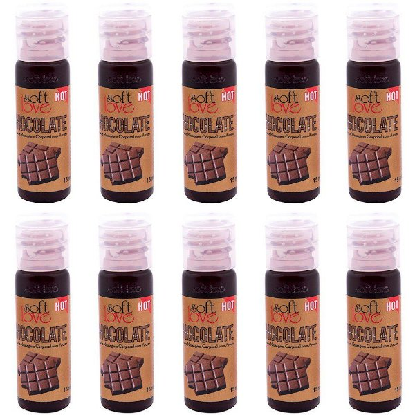 Pack 10 Géis Hot Chocolate 15ml Soft Love