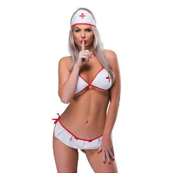 Mini Fantasia Enfermeira Sexy Fantasy