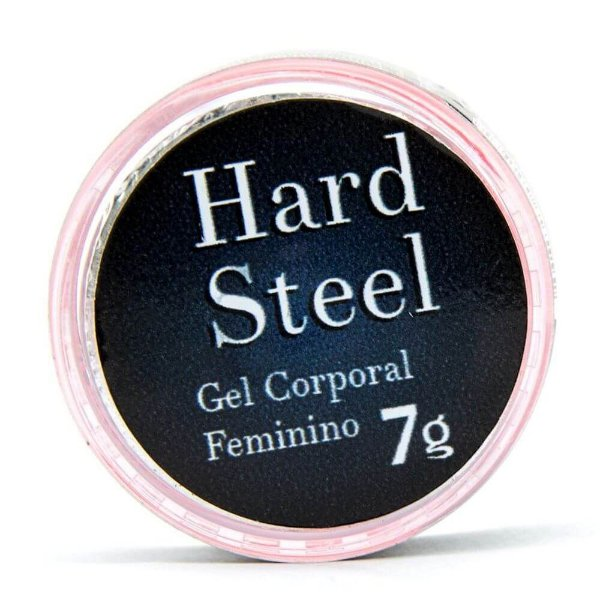 Hard Steel Gel Excitante Feminino 7g Garji