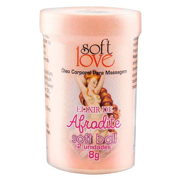 Soft Ball Bolinha Elixir Afrodite 8g 02 Unidades Soft Love