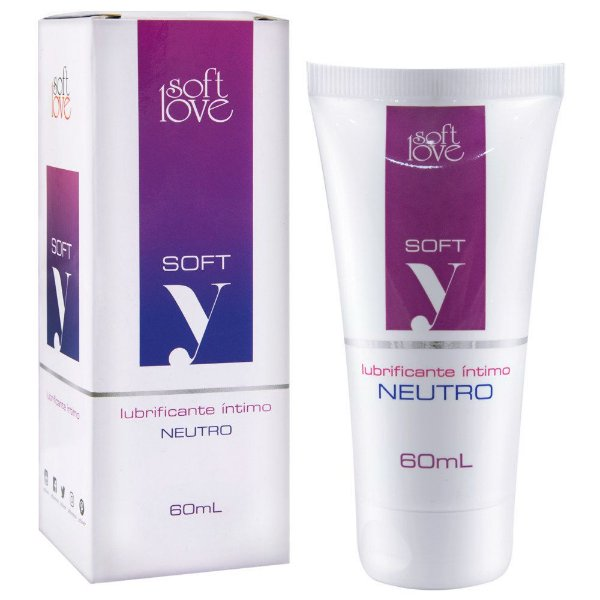Soft Y Lubrificante 60ml Soft Love