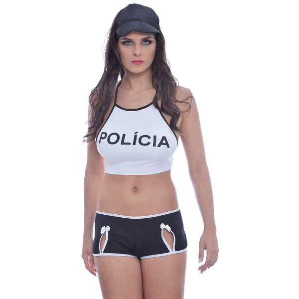 Kit Fantasia Policial Tropa de Elite Soft Love