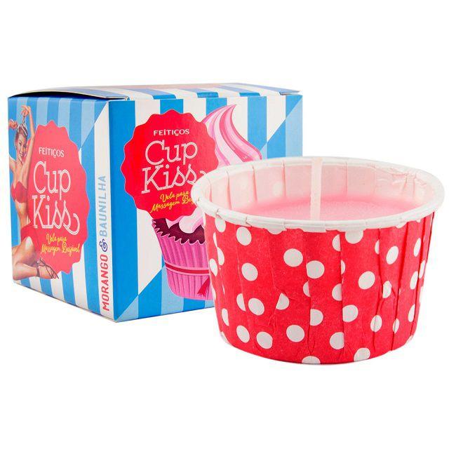 Cup Kiss Vela Para Massagem Beijável 35gr Feitiços