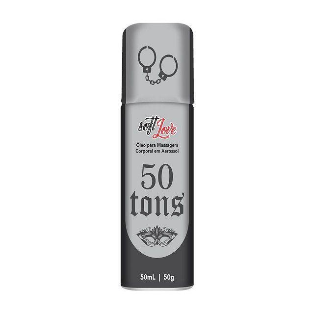 50 Tons Spray Funcional Aerosol 50ml Soft Love
