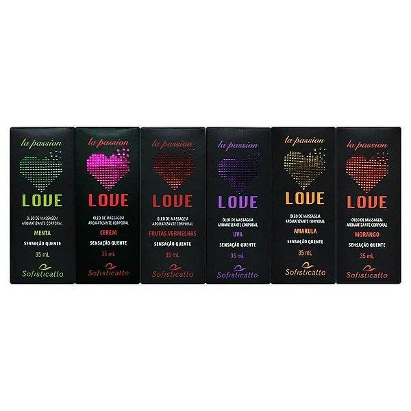 Love Gel Comestível Hot 35ml Sofisticatto