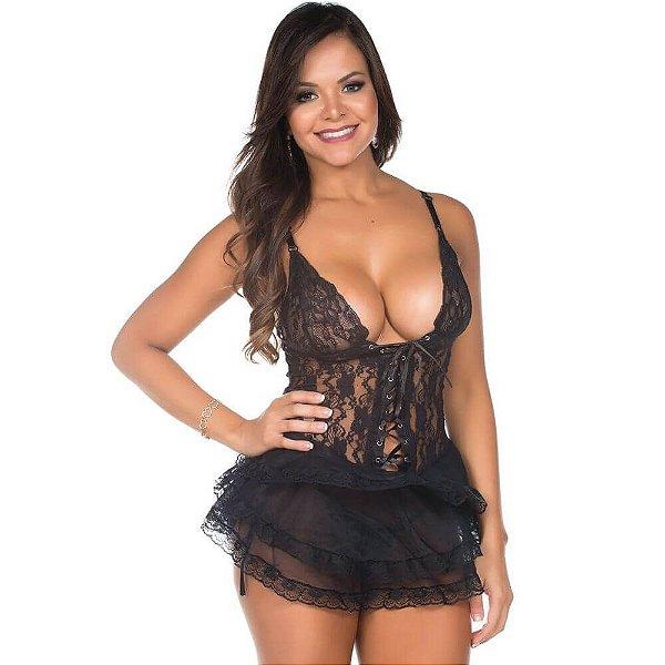 Camisola Sensual Rockeira Pimenta Sexy