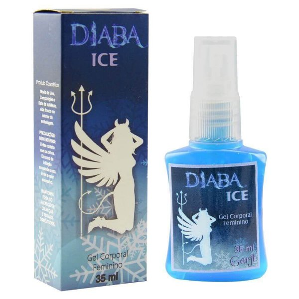 Diaba Ice Excitante Feminino Spray 35ml Garji